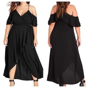 CITY CHIC miss Jessica maxi dress 18 • NEW